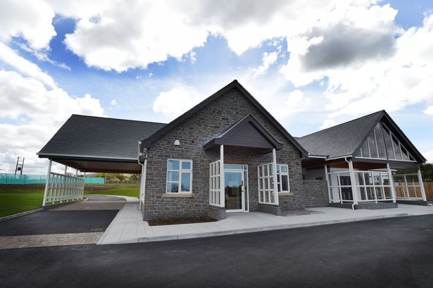 The newly opened crematorium in St Asaph, Denbighshire